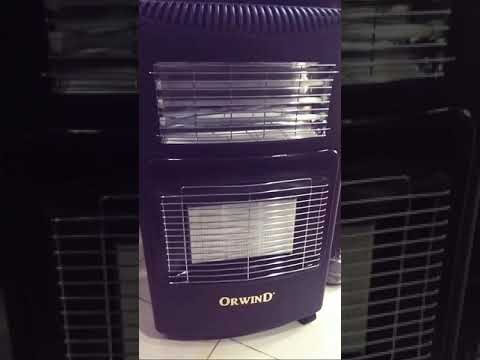 LPG Gas and Electric Portable Room Heater