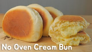 No Oven) Cream Bun  FOOD VIDEO  [스윗더미 . Sweet The MI]