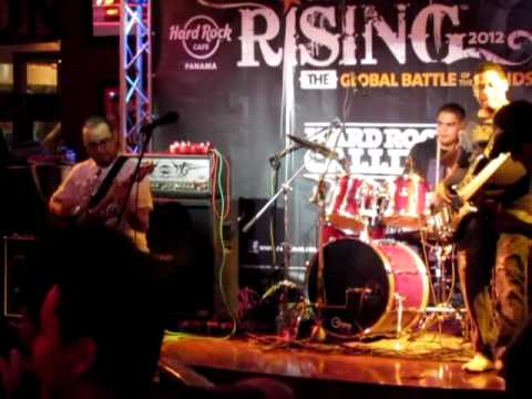 Banda KM7 Final del Hard Rock Rising 2012 parte 1/3