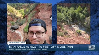 Valley Man Recovering After Scary Fall Off Mountain In Northern Arizona