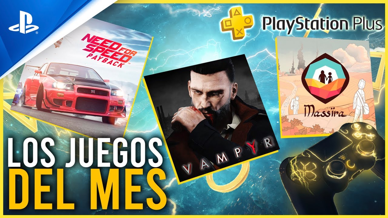 Need for Speed: Payback y Vampyr son tus juegos de PS Plus en octubre