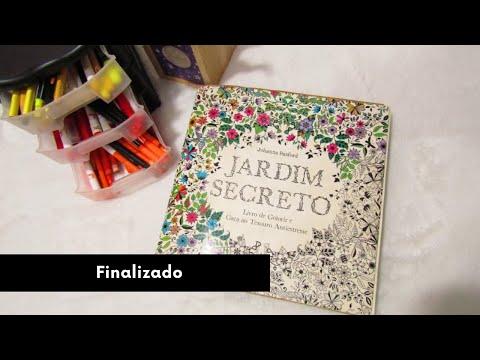 Jardim Secreto Finalizado - Secret Garden Finished