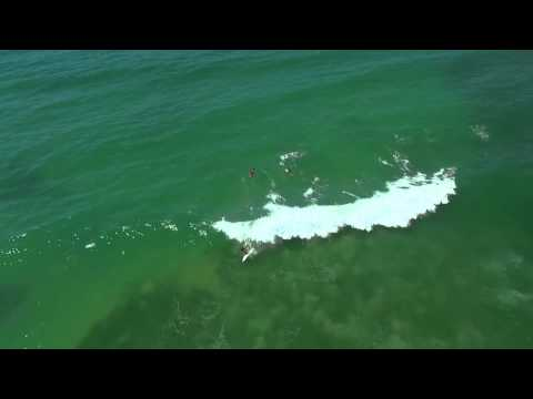 Drone angle of Bar Beach and surrounding area