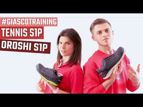 #GIASCOTraining: OROSHI S1P - TENNIS S1P. Fresh safety shoes for the summer season