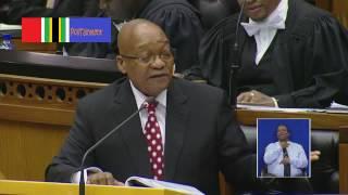 Jacob Zuma roast Mmusi over English (Bell Pottinger question)