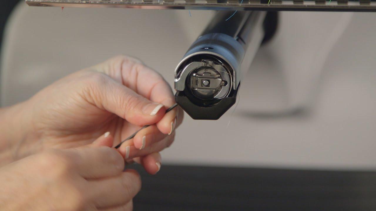 BERNINA E 16 Tutorial: Stitching a Cap – Machine