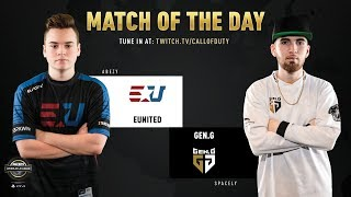 eUnited vs Gen.G | CWL Pro League 2019 | Cross-Division | Week 12 | Day 2