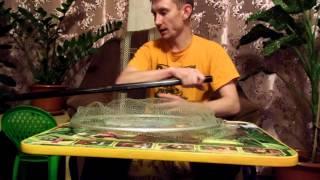 Телескопическая ручка для подсака своими руками