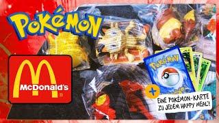 Pokemon McDonalds Happy Meal 2018   Alle Spielzeuge