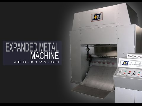 High Speed Expanded Metal Mesh Machine - JEC-X125-SH
