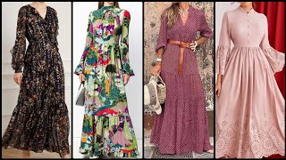 New Women Fashion Outfit Slimfit Dress And Long Maxi Designs And Ideas 2020-2021