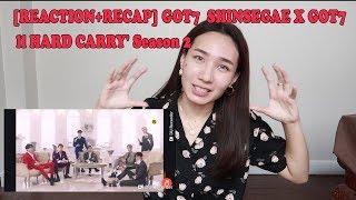 [REACTION+RECAP] GOT7  SHINSEGAE X GOT7 ll HARD CARRY' Season 2