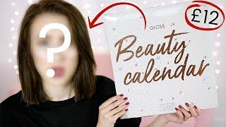 Full Face Of *CHEAPEST* ADVENT CALENDAR Makeup + UNBOXING | Sophie Louise
