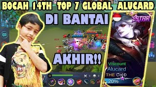 AWALNYA MENANG TURRET, BOCAH 14 TAHUN TOP 7 GLOBAL ALUCARD DI BANTAI !!  - Mobile Legends