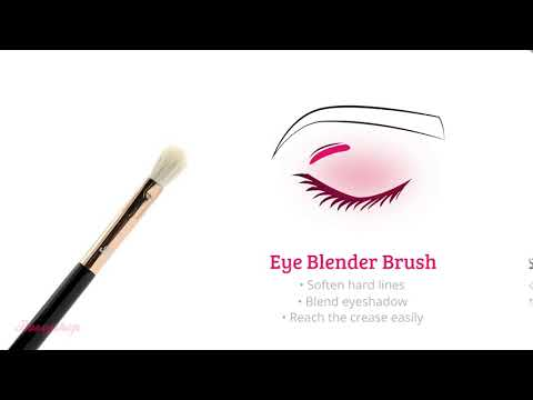 Boozyshop Boozyshop Ultimate Pro UP24 Eye Blender Brush