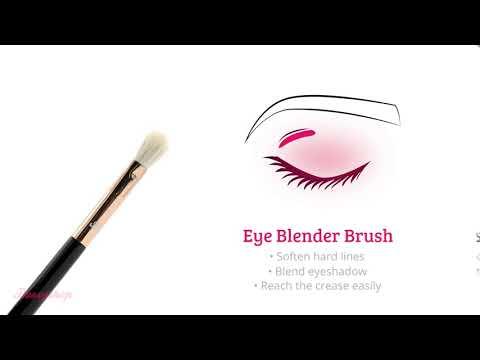 Boozyshop Boozyshop Ultimate Pro UP24 Eye Blender Brush