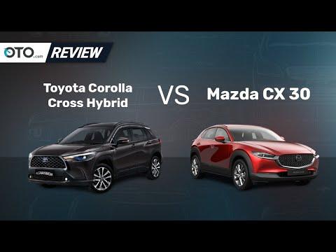 Toyota Corolla Cross Hybrid vs Mazda CX-30 | Review | Pilih Yang Mana? | OTO.com