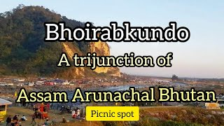 preview picture of video 'BHOIRABKUNDO PICNIC SPOT || A TRI JUNCTION OF ASSAM ARUNACHAL & BHUTAN'