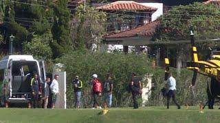 Neymar se junta à Seleção na Granja Comary