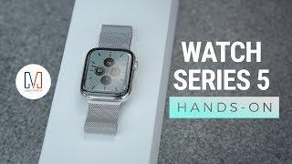 Unboxing my CUSTOM Apple Watch Series 5
