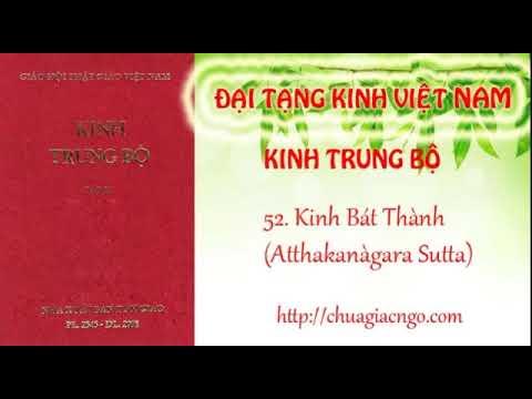 Kinh Trung Bộ - 052. Kinh Bát thành
