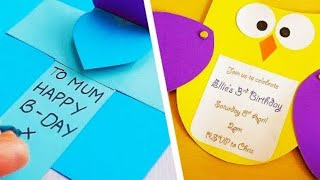 5 DIY Greetings Cards For Any Occasion   Handmade Greeting Cards   Easy Paper Crafts   Craft Factory