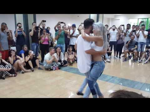 Aprenda a Dançar Kizomba com Sara Lopez & Reda Becil.