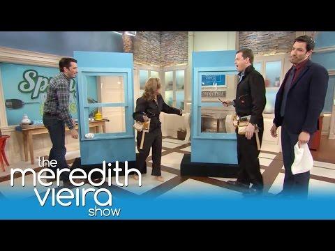 Willie Geist Fails At Home Improvements! | The Meredith Vieira Show