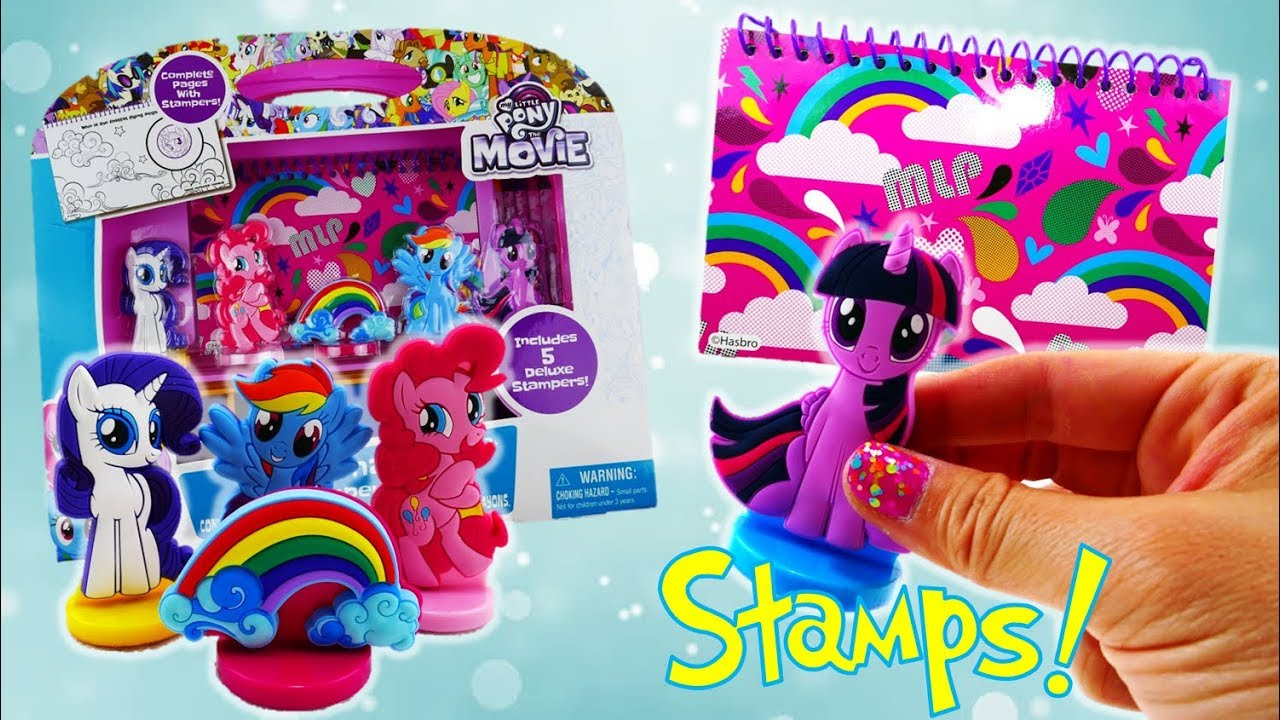 My Little Pony The Movie 2017 Ultimate Stamper Set and MLP Activity Book