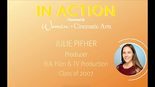 IN ACTION: Julie Pifher