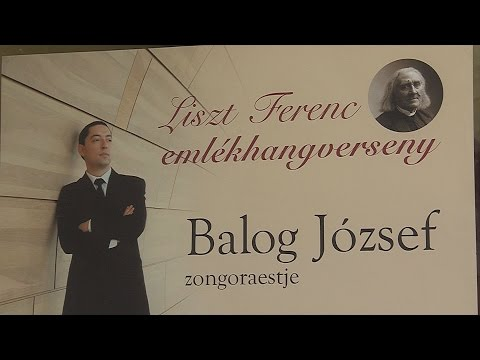 Liszt Ferenc emlékhangverseny - video preview image