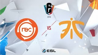 Six Invitational 2019 - Team Reciprocity vs. Fnatic