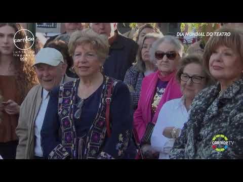 Ep. 483 - Dia Mundial do Teatro - Homenagem a Manuela Maria