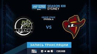 Legacy vs Renegades - IEM Sydney XIII - de_mirage [ceh9, Enkanis]