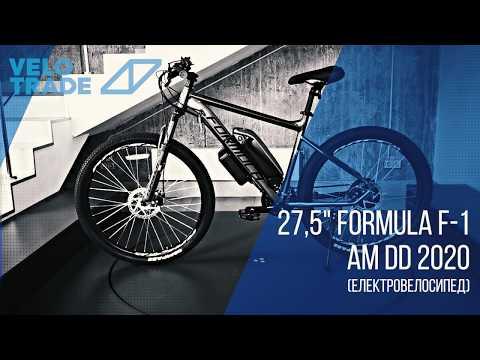 "Электровелосипед 27.5"" F-1 500Вт 36В, 10.4Ач, макс.пробег 40км, 45 км/ч: video"