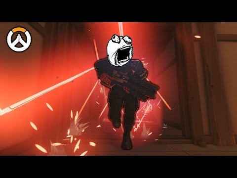 OVERWATCH ► FUNNIES, FAILS & CRAZY MOMENTS #52