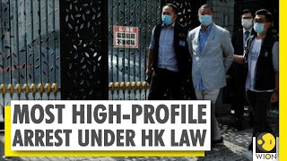 Hong Kong media tycoon Jimmy Lai arrested under new security law | Hong Kong top news | WION  IMAGES, GIF, ANIMATED GIF, WALLPAPER, STICKER FOR WHATSAPP & FACEBOOK