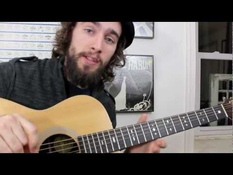 Songwriting Guitar Lesson - The Ionian Progression - Common Guitar Chords