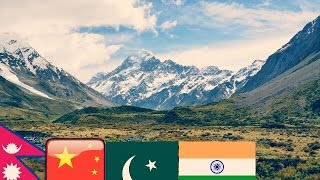 Top 10 Tallest Mountains On Earth | Everest  | India | Nepal | Pakistan | China|
