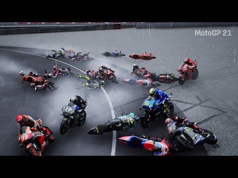MotoGP™21 Crash Compilation #2