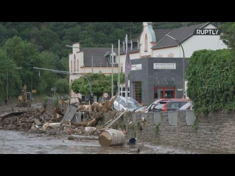Τουλάχιστον 20 νεκροί από τις πλημμύρες στη δυτική Γερμανία – Δεκάδες αγνοούμενοι