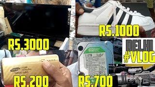 Delhi ka Chor Bazaar | Chor bazaar delhi exposed cheap shoes laptops mobiles branded jeans tshirts
