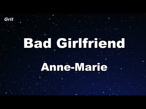 Bad Girlfriend - Anne-Marie Karaoke 【With Guide Melody】 Instrumental