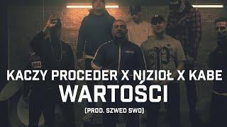 Kadr z teledysku Wartości tekst piosenki Kaczy Proceder ft. Nizioł, Kabe