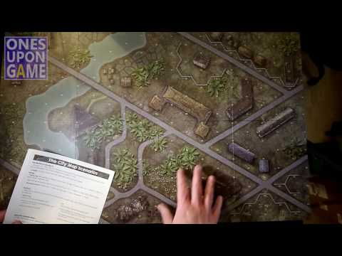 '65: Hue City Map Expansion Unboxing by Ones Upon a Game