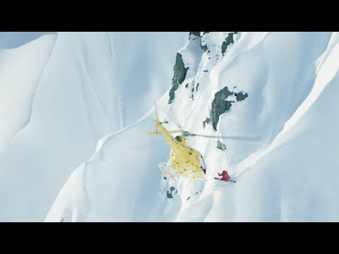 Heliskiing In Alaska On Insanely Steep Lines. | Legs Of Steel: Same Difference