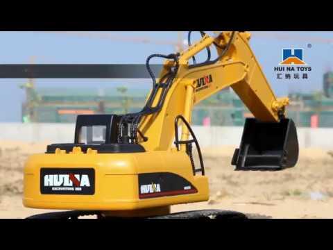 fisca 2.4GHz 15 Chanel RC Remote Control Excavator Crawler Tractor
