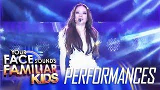 Your Face Sounds Familiar Kids Finale: AC Bonifacio as Sarah Geronimo - Kilometro