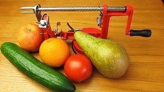 Яблокорезка! Издеваюсь над фруктами и овощами )))