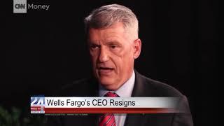 Wells Fargo's CEO Resigns